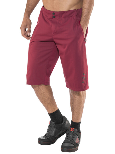Fox Attack Water Shorts Men Dark Red